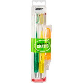 Lacer Technic Cepillo Dental Medio 2 Unidades