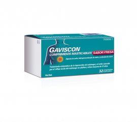 Gaviscon Sabor Fresa 24 Comprimidos Masticables