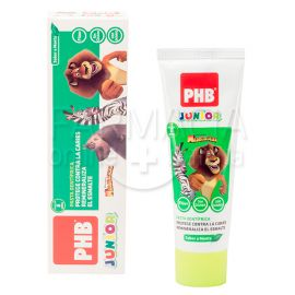 PHB Junior Pasta Dentifrica Menta 75ml