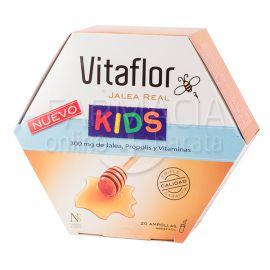 Vitaflor Jalea Real Kids ampolla bebible 10 ml 20 ampollas