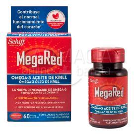 MegaRed Omega 3 Aceite de Krill 500 mg 60 Capsulas