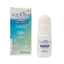 Aquoral Gotas Oftalmicas Lubricantes Multidosis 10 Ml