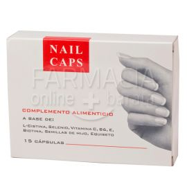 Nails Caps 15 Cápsulas