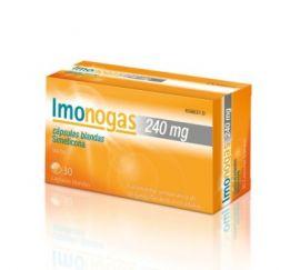 Imonogas 240 Mg 30 Cápsulas Blandas