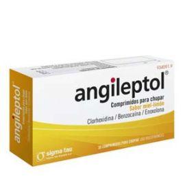Angileptol Miel Limon 30 Comprimidos