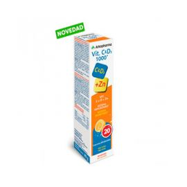 Arkopharma Vitamina C y D3 1000 20 Comprimidos Efervescentes