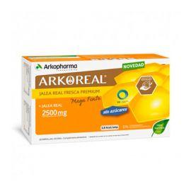 Arkoreal Jalea Real Bio Sin Azúcar 2500Mg 20 Ampollas Monodosis
