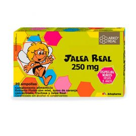 Arkoreal Jalea Real 250mg 20 Ampollas