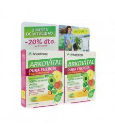Arkovital Pura Energía Multivitaminas Duplo 2x30 Comprimidos