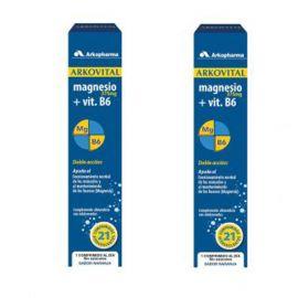 Arkovital Magnesio Vitamina B6 2x21 comprimidos esfervescentes