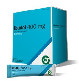 Ibudol Ibuprofeno 400 Mg 20 Sobres Suspensión Oral