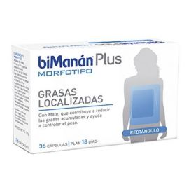 Bimanan Plus M Rectangulo 36 Capsulas con Mate