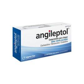 Angileptol Sabor Menta-Eucalipto 30 Comprimidos para Chupar