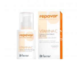 Repavar Vitamina C Crema Contorno de Ojos 15 Ml