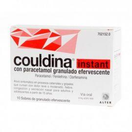 Couldina Instant con Paracetamol 10 Sobres Efervescentes