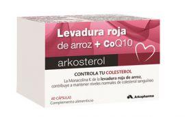 Arkosterol Levadura Roja de Arroz + Q10 60 Cápsulas