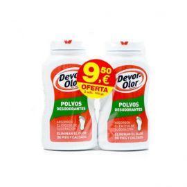 Devor Olor Duplo Polvos Desodorantes 2X100 Gr