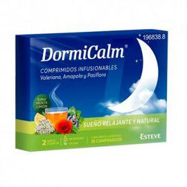 DormiCalm 30 Comprimidos Sabor Menta Limón