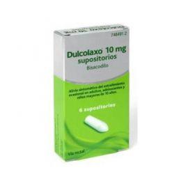 Dulcolaxo 10 Mg 6 Supositorios