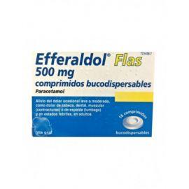 Efferaldol Flas 500 Mg 16 Comprimidos Bucodispensables