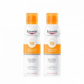Eucerin Sun Protection Duplo Spray Transparante SPF50