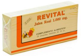 Revital Jalea Real 20 Ampollas Bebibles