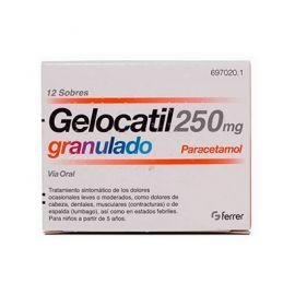 Gelocatil 250 Mg Granulado 12 Sobres