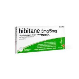 Hibitane 5/5 Mg 20 Comprimidos para Chupar Sabor Mentol