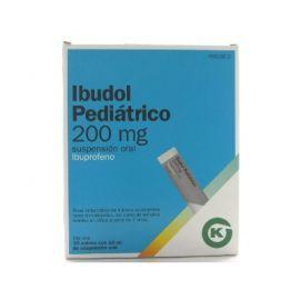 Ibudol Ibuprofeno Pediátrico 200 Mg 20 Sobres Suspensión Oral