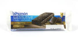Bimanan Sustitutive Barrita Chocolate Negro Intenso