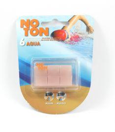 Noton Tapones de Silicona Moldeable Agua para Oidos 6 Unidades