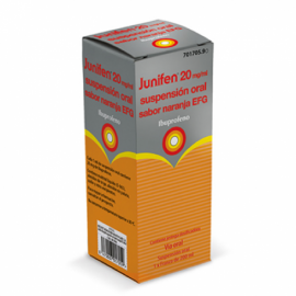 Junifen Naranja 20 Mg/Ml Suspensión Oral 200 Ml