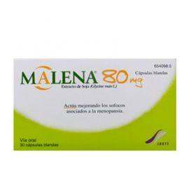 Malena Extracto de Soja 80 Mg 30 Cápsulas