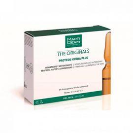 Martiderm The Original Proteos Hydra Plus  Piel Seca 10 Ampollas