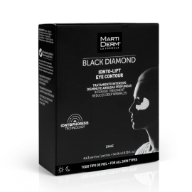 Martiderm Black Diamond Ionto-Lift Eye Contour 4x2 Parches