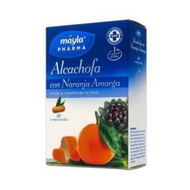 Mayla Alcachofa con Naranja Amarga 30 Comprimidos