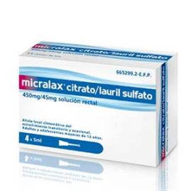 Micralax 4 Microenemas 5 Ml