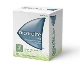 Nicorette 2 Mg 210 Chicles