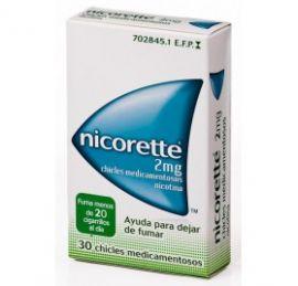 Nicorette 2 Mg 30 Chicles