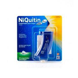 Niquitin 4 Mg 20 Comprimidos para Chupar Sabor Menta