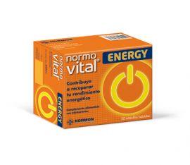 Normovital Energy 20 Ampollas