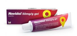 Novidol 50 mg/g Gel 60 Gr
