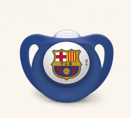 Nuk Chupete Silicona FC Barcelona 6-18 Meses