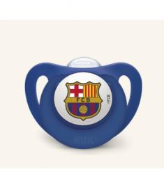 Nuk Chupete Silicona FC Barcelona 18-36 Meses