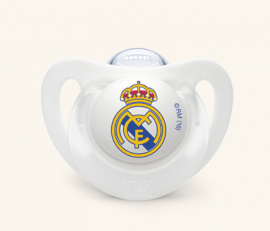 Nuk Chupete Silicona Real Madrid 6-18 Meses