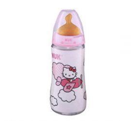 Nuk Bibi Boca Ancha Latex 2L 300 Ml Hello Kitty