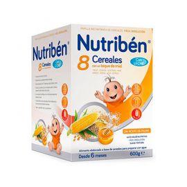 Nutriben 8 Cereales Miel C/Leche 600 G.