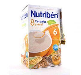Nutriben 8 Cereales y Miel 4 Frutas 600g