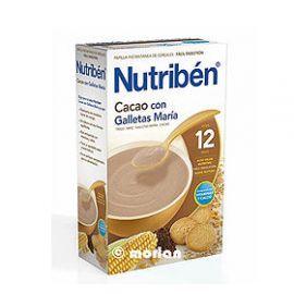 Nutriben Cacao Con Galletas Maria 600 G.