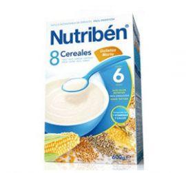 Nutriben Papilla 8 Cereales Galletas Maria 600 Gr